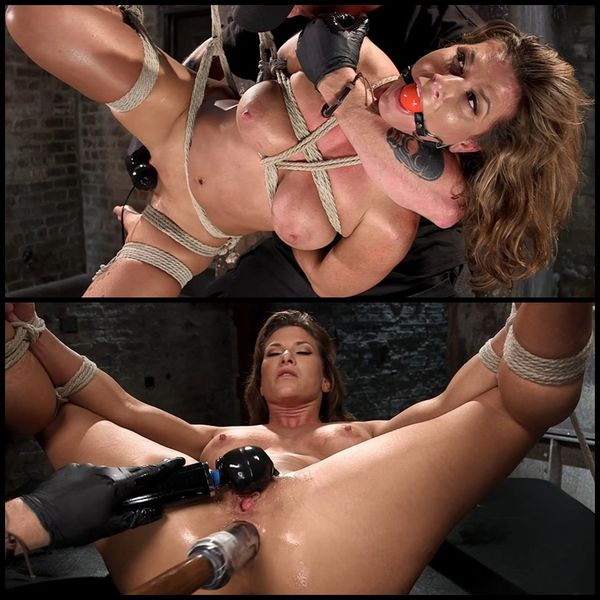 (09.07.2015) Ariel X is Helpless in Extreme Bondage
