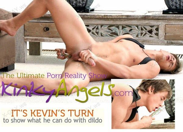 BelAmiOnline: Kinky Angels (Kevin's Turn With Dildo)