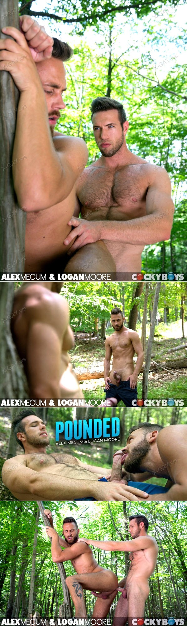 CockyBoys: Logan Moore, Alex Mecum Flip Fuck