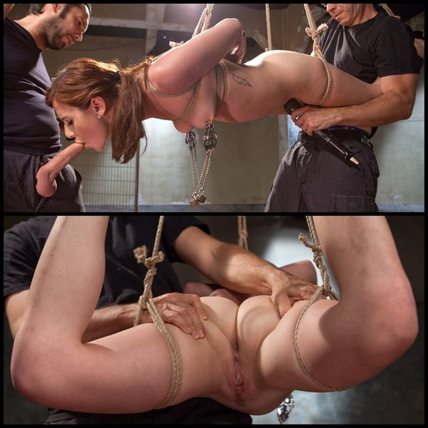 (17.07.2015) Hardcore Anal in Bondage Slave Training