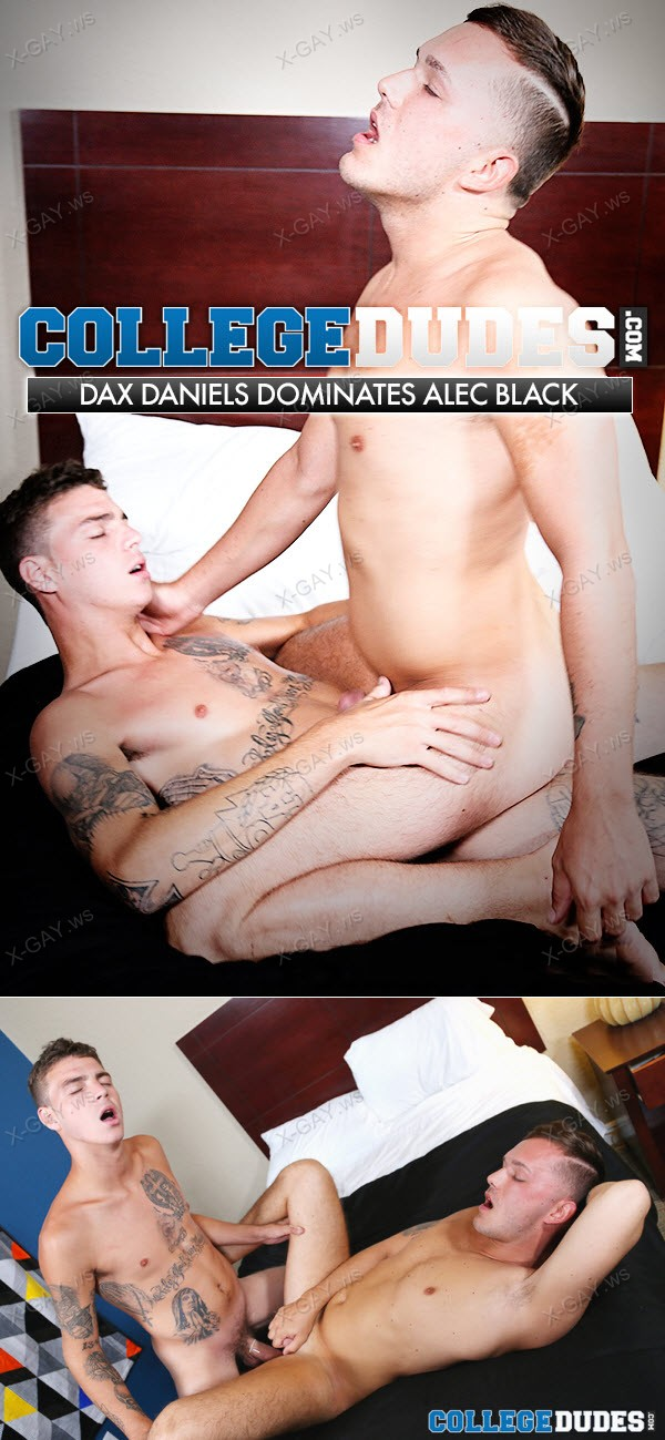CollegeDudes: Dax Daniels Dominates And Fucks Alec Black