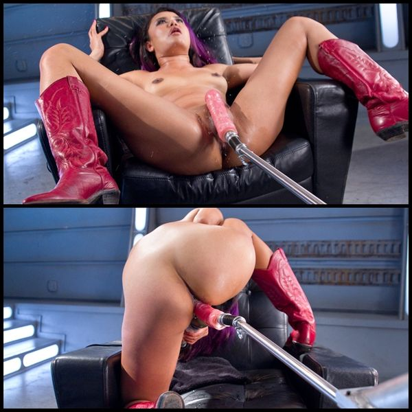 (05.08.2015) Pussy-Squirt-Queen, Annie Cruz Returns to Fucking Machines