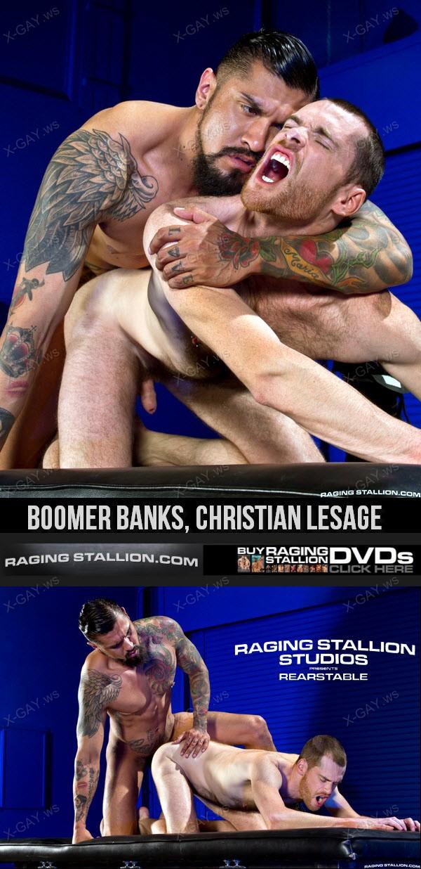 RagingStallion: Foreskin Mafia (Boomer Banks, Christian Lesage)