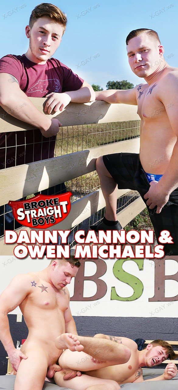 BrokeStraightBoys: Owen Michaels, Danny Cannon (Bareback)