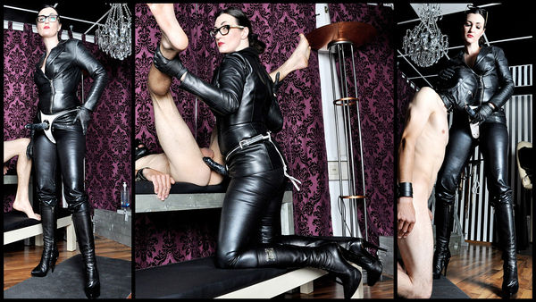 FemmeFataleFilms - Lady Victoria Valente - Horny Cock Slave complete 11.09.2015