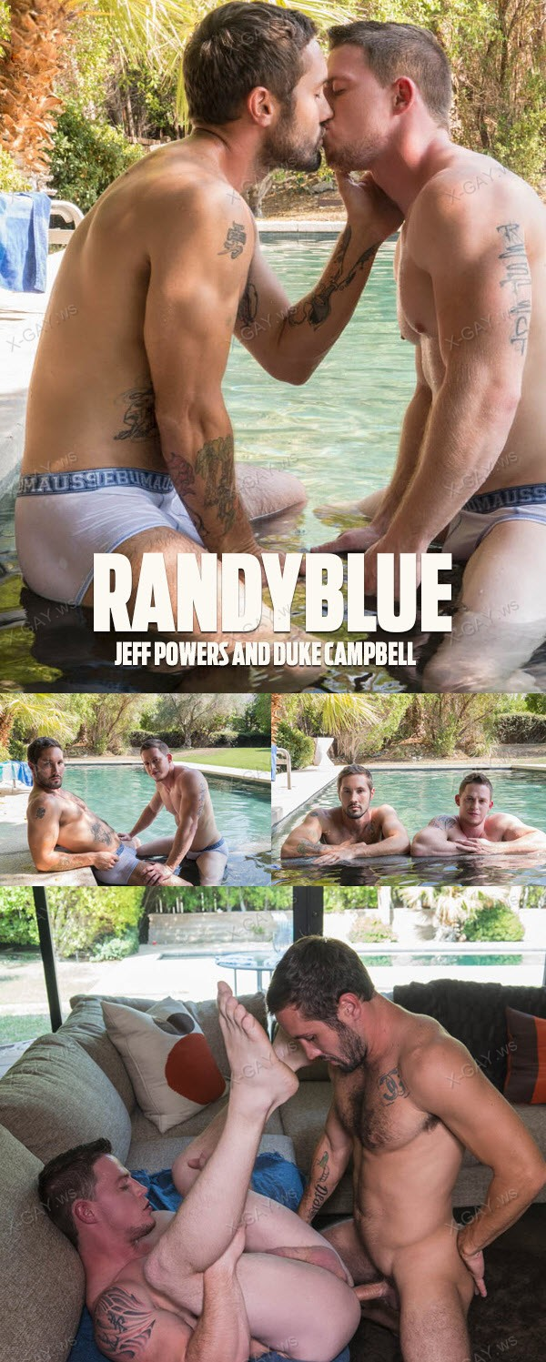 RandyBlue: Duke Campbell, Jeff Powers (Bareback)