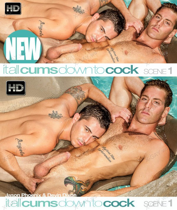 C1R: It All Cums Down To Cock, Scene #01 (Devin Dixon, Jason Phoenix)