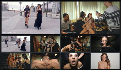 Public Disgrace - Sep 4, 2015 - Carolina Abril, Emilio Ardana and Satrina