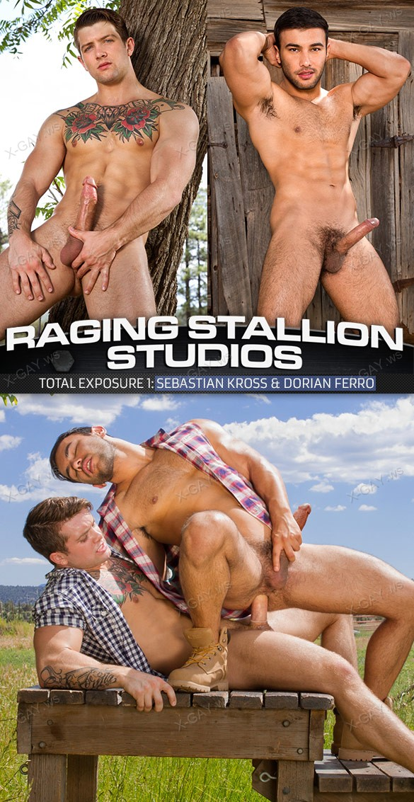RagingStallion: Total Exposure 1 (Sebastian Kross, Dorian Ferro)