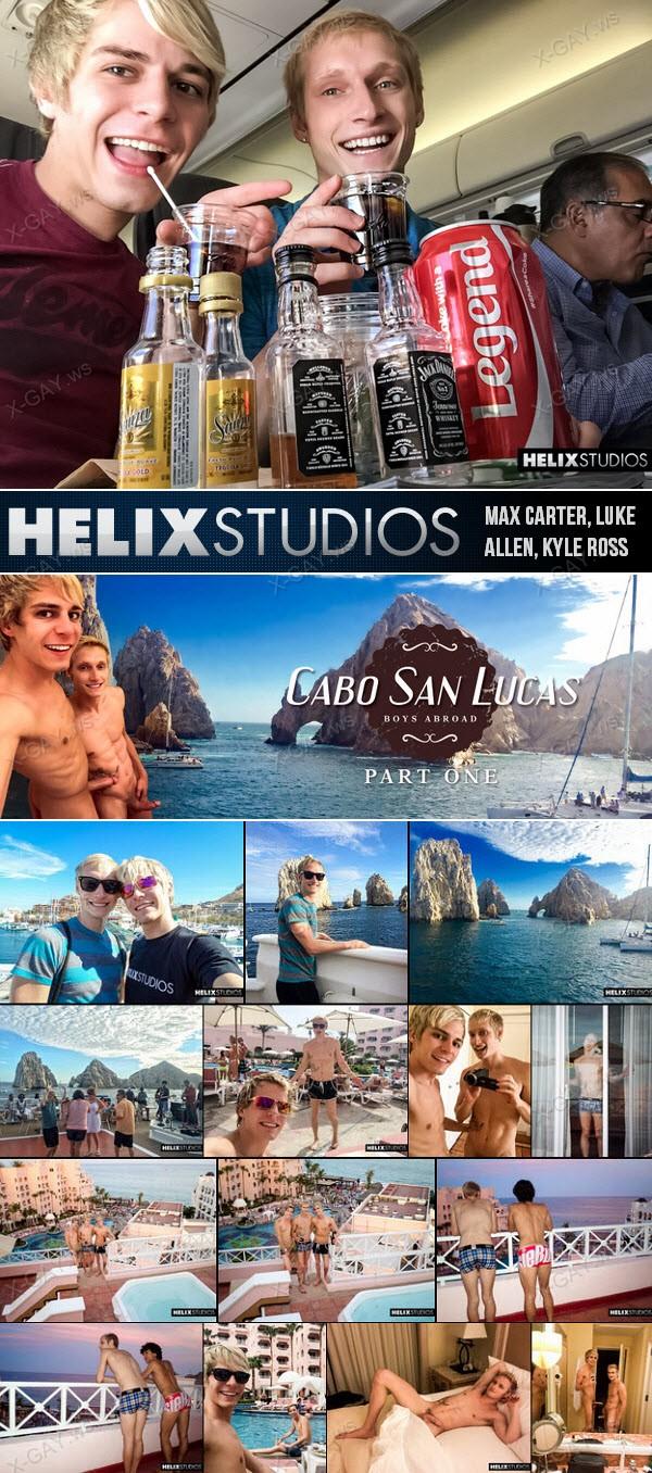 HelixStudios: Cabo San Lucas: Boys Abroad, Part 1 (Max Carter, Luke Allen, Kyle Ross)