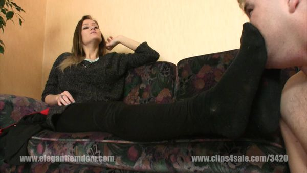 ElegantFemdom - Lady Demona - The Looser Male