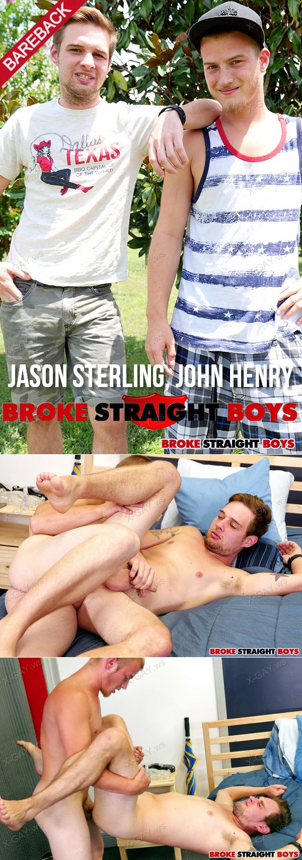 BrokeStraightBoys: Jason Sterling, John Henry (RAW)