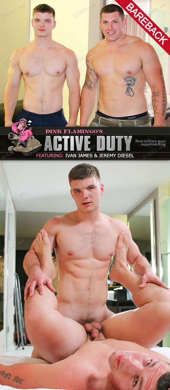ActiveDuty: Jeremy Diesel, Ivan (Bareback)