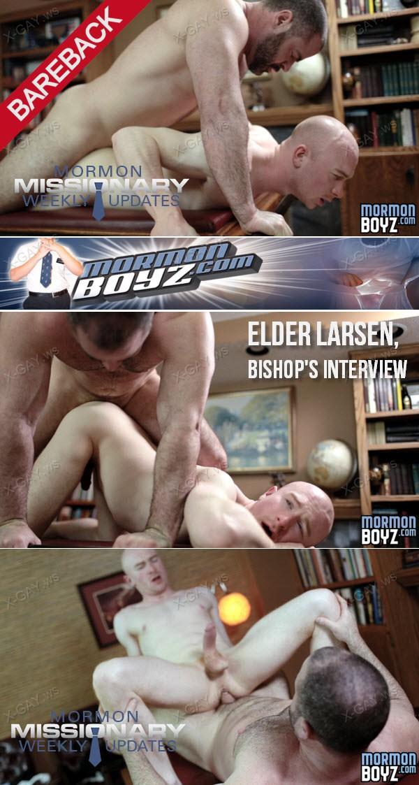 MormonBoyz: Elder Larsen, Bishop's Interview (Bareback)