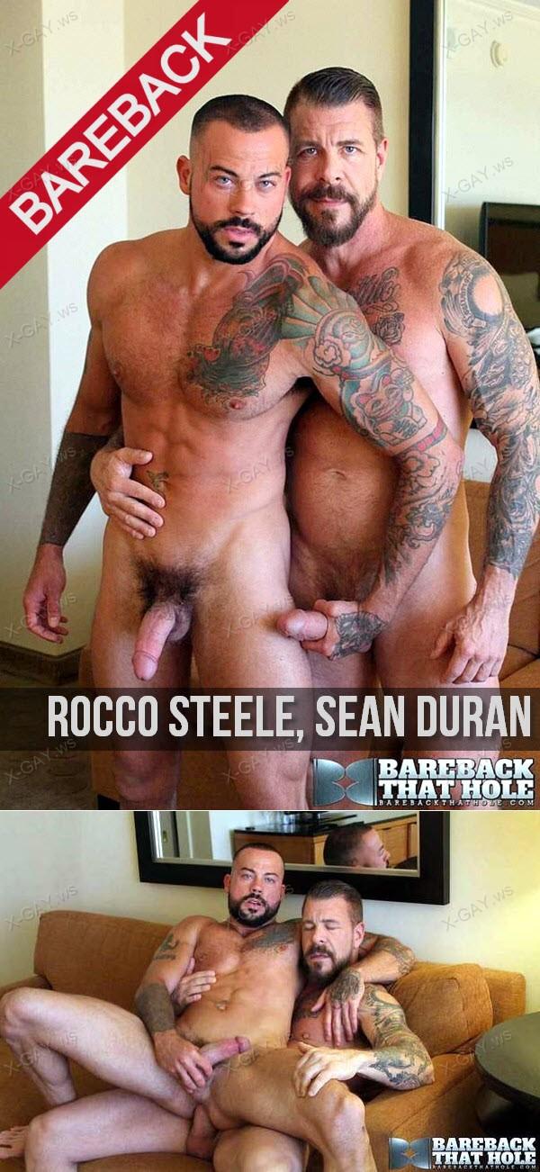 BarebackThatHole: Rocco Steele, Sean Duran (Bareback)