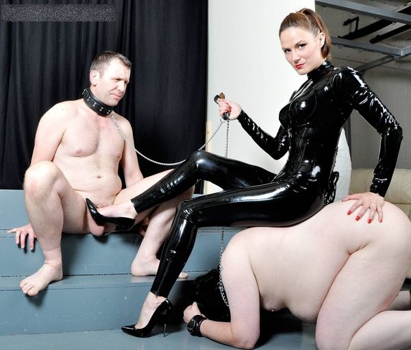 FemmeFataleFilms - Mistress Krush - Foot and Face Sitting Slaves complete