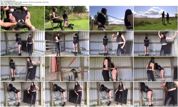 NEW TheEnglishMansion - Mistress Amrita - Amrita's Bound Filly part 1-3 update 17.10.2015