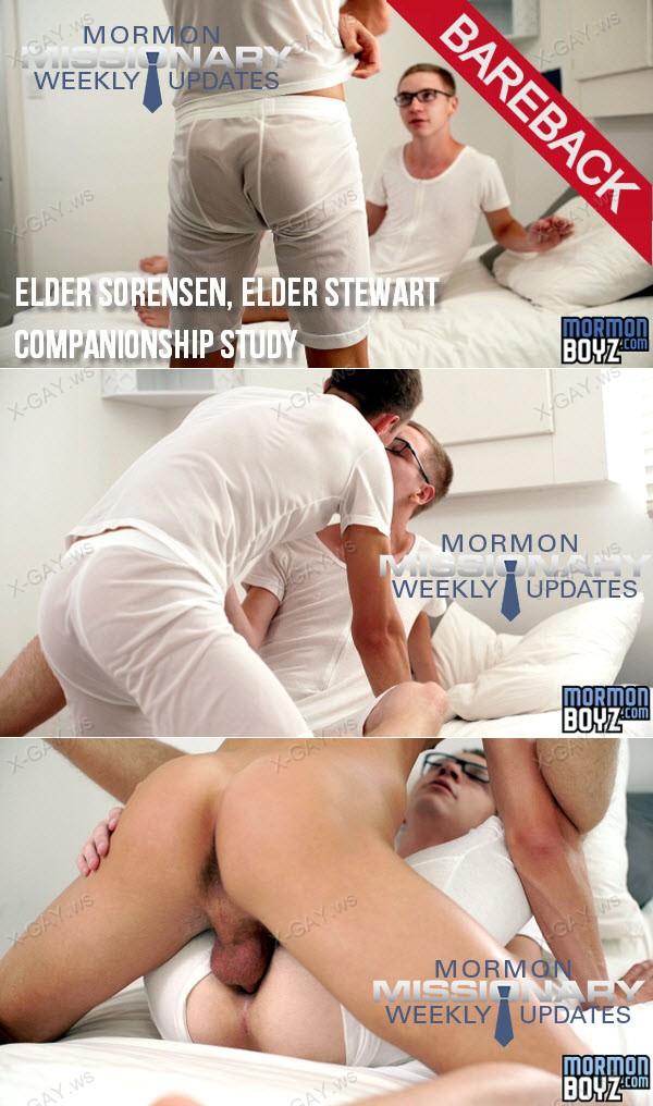 MormonBoyz: Elder Sorensen, Elder Stewart (Companionship Study) (Bareback)
