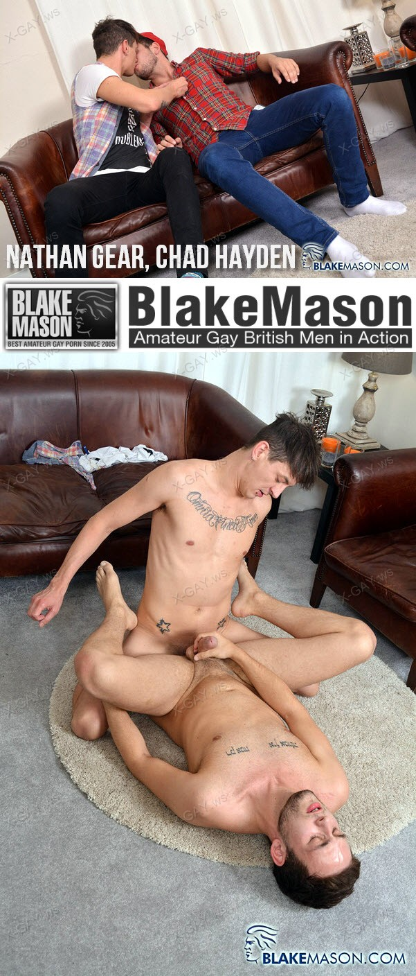 BlakeMason: Nathan Gets A Juicy Load! (Nathan Gear, Chad Hayden)