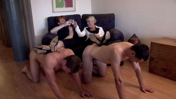 CFNMtv - office rival stripped part 1-6 update
