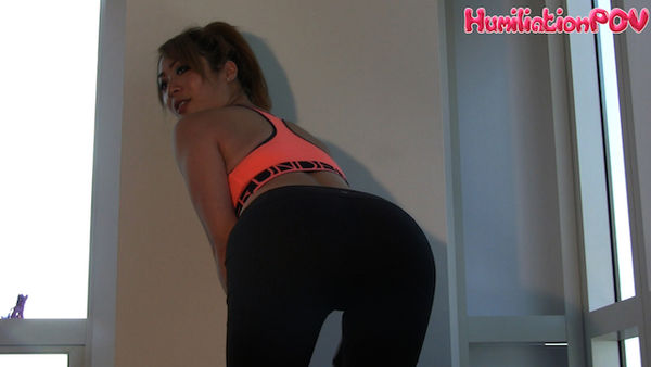 HumiliationPOV - Brat Mabel - Asian Ass In Yoga Pants