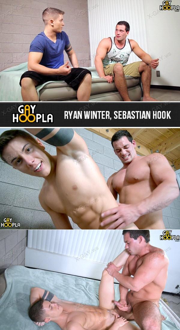 GayHoopla: Ryan Winter Fucks His Neighbor Sebastian Hook