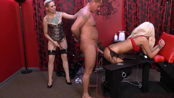 AmberDungeon - Mistress Monica, Mistress Summer - Three Way Part 2 of 5