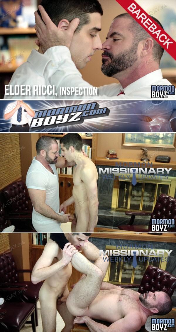 MormonBoyz: Elder Ricci, Inspection (Bareback)
