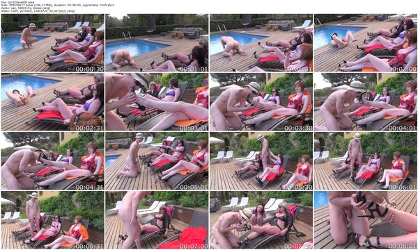 TheEnglishMansion - Zara, Vivienne, Nina - Girls in Heat part 1-3 update