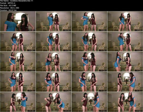 Goddess Alexandra Snow, Miss Mina Thorne - Chicks with Dicks