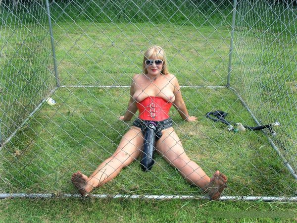 TheEnglishMansion - Dom Strapon - Caged Monster Strapon complete
