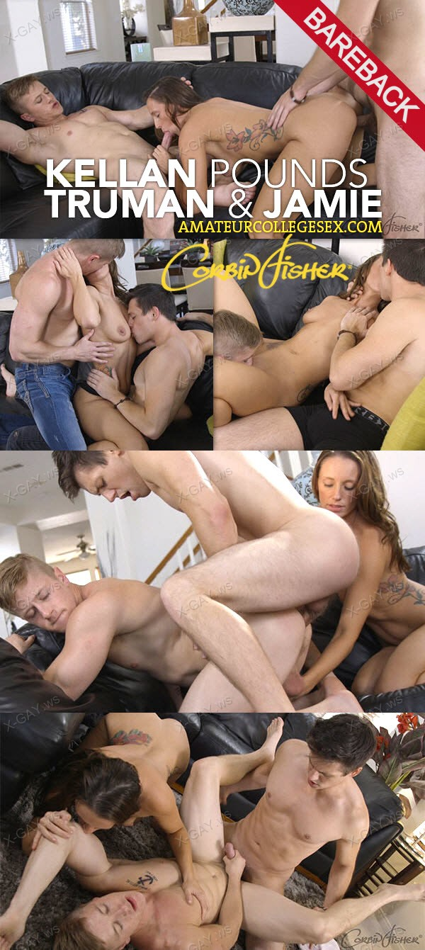 CorbinFisher: Kellan Pounds Truman and Jamie (Bareback)