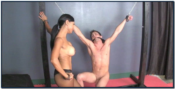 Sold Trapped And Nutted Femdom