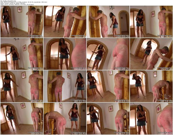 FemdomShed - Bratty Princess - An extreme caning