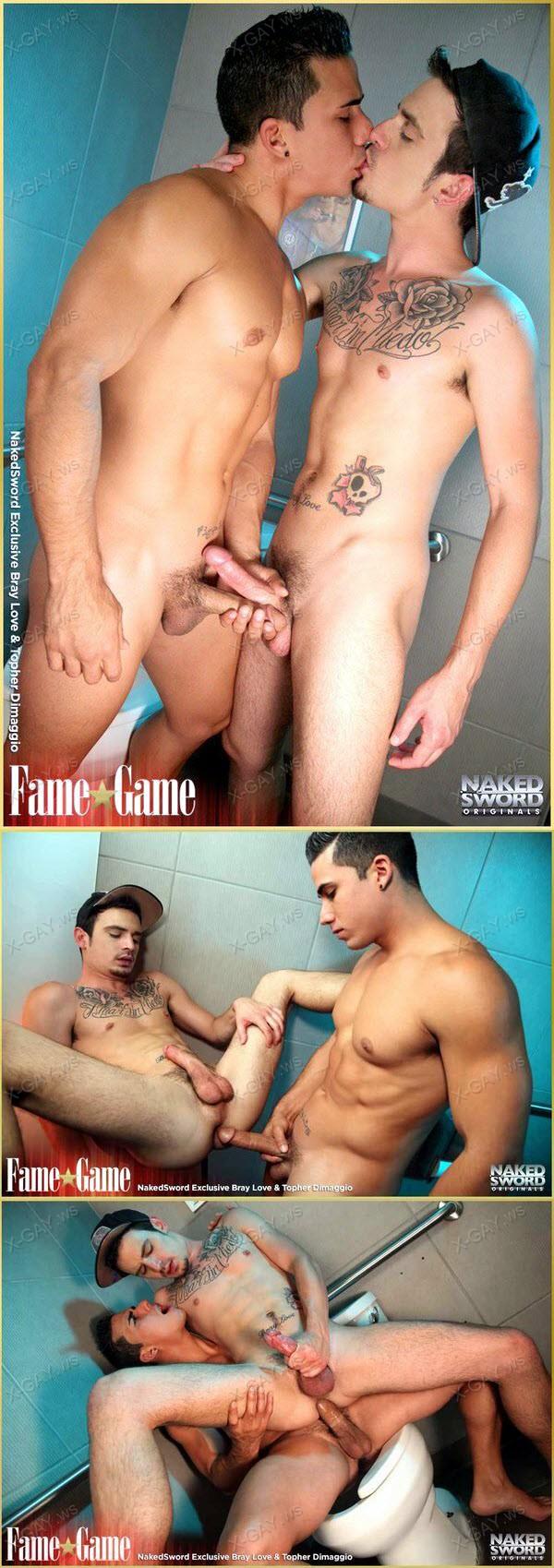 NakedSword: Fame Game Episode 3: Selfie Sabotage (Bray Love, Topher Dimaggio)