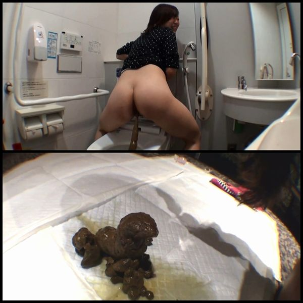 (BFJG-06) Enema and girls pooping self filmed defecation