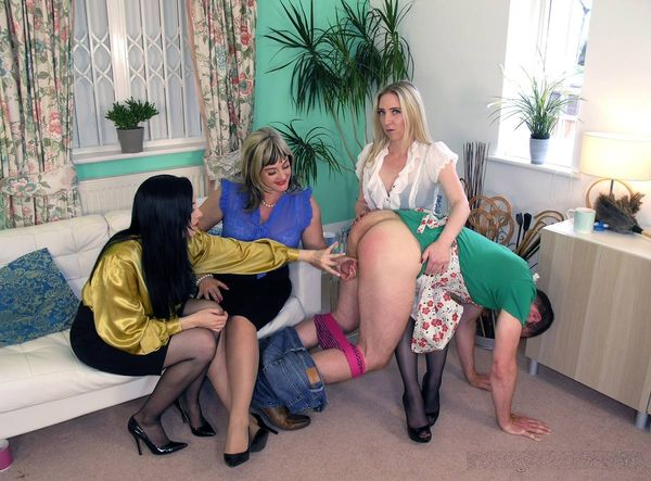 TheEnglishMansion - Lady Nina Birch, Miss Eve Harper, Miss Jessica - A Well Trained Husband part 1-4 update