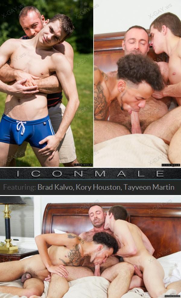 IconMale: Daddy's Big Boy 2, Scene #04 (Brad Kalvo, Kory Houston, Tayveon Martin)