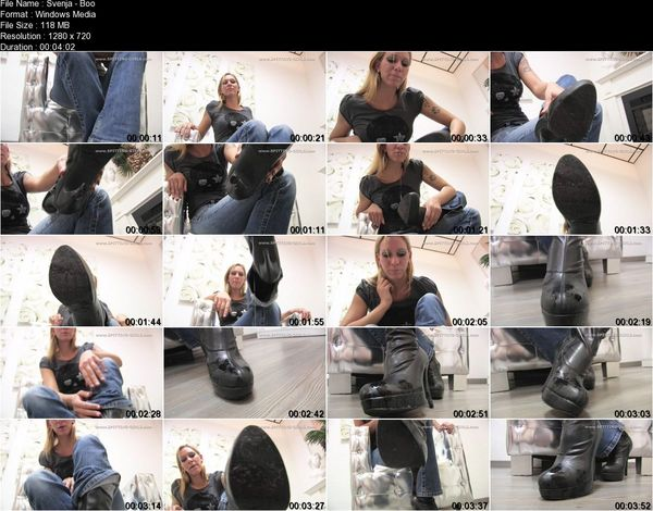 Clips4sale - Svenja - Boot licking