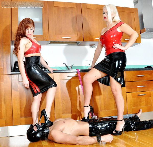 FemmeFataleFilms - Divine Mistress Heather, Lady Mia Harrington - Doubled Up complete