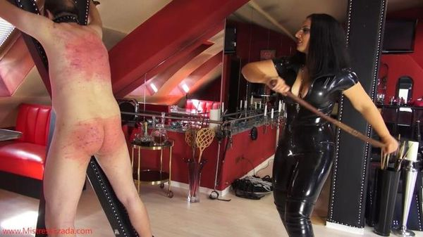 MistressEzada - Mistress Ezada - Hard Spanking Slave