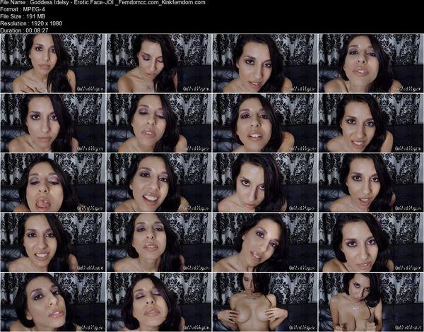 Goddess Idelsy - Erotic Face-JOI