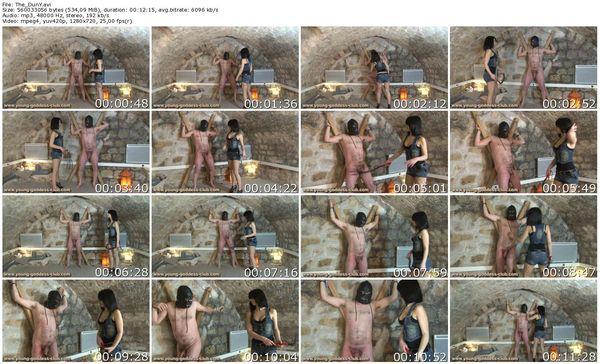 Young-Goddess-Club - GODDESS DEMONIA AND SLAVE NIKOLAS - THE DUNGEON