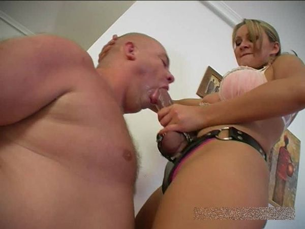 FemdomShed - Princess Amber - Suck on this big cock you sissy boy