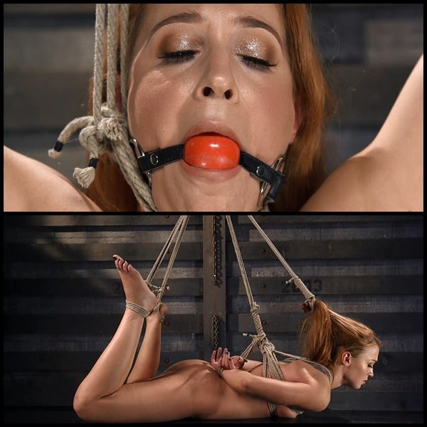 (17.12.2015) Red Headed Slut in Grueling Bondage