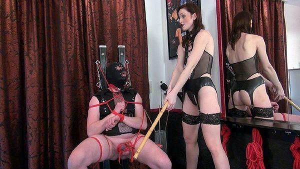 KinkyMistresses - Vivienne Lamour - My Ballbusting Slave Part 1