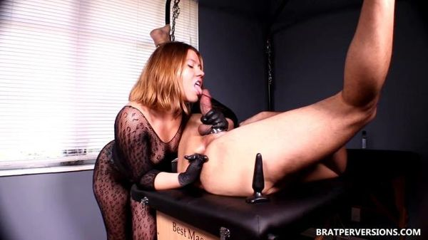 BratPerversions - The best prostate massage experience