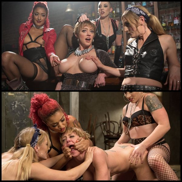 (25.12.2015) All Girl Gangbang at the Dyke Bar