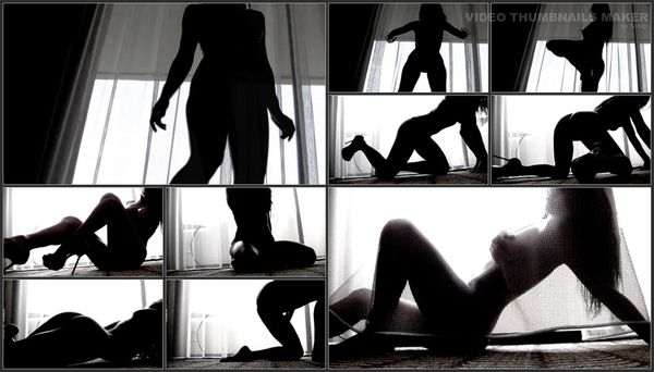 Divine Goddess Jessica - Sensual Silhouette Tease - Glamour Nude