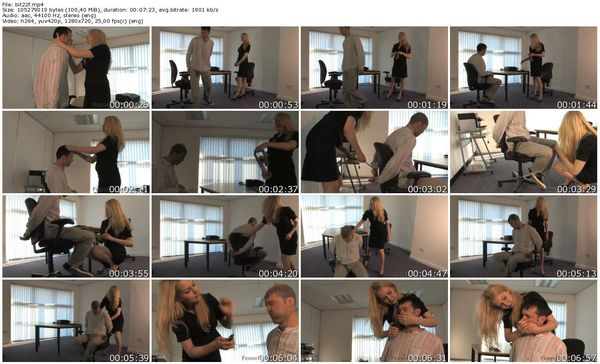 FemmeFataleFilms - Mistress Eleise de Lacy - Bitchy Boss part 1-3 update